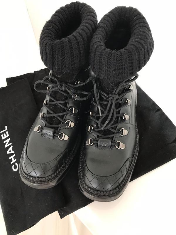 Ботинки chanel. оригинал. Chanel, цена - 20500 грн,  16455158 ... ff6bf12fe8a