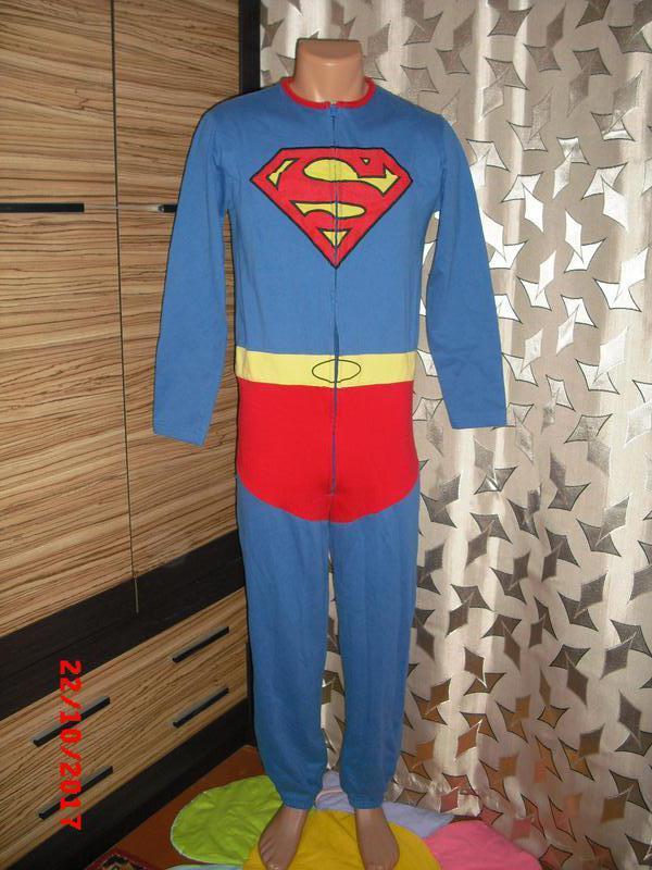 Слип-пижама человечек superman Next e27428ad20c31