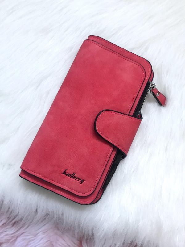 08d76ade692e Стильный клатч, кошелек baellerry forever. женское портмоне, гаманець.  красный цвет1 фото ...
