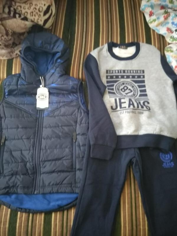 342263e6 Утепленный спортивный костюм 3-ка для мальчика, венгрия, цена - 475 ...