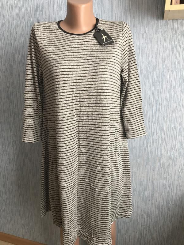 19d3c441346 Шикарное теплое платье свободного покроя 14 размер Atmosphere