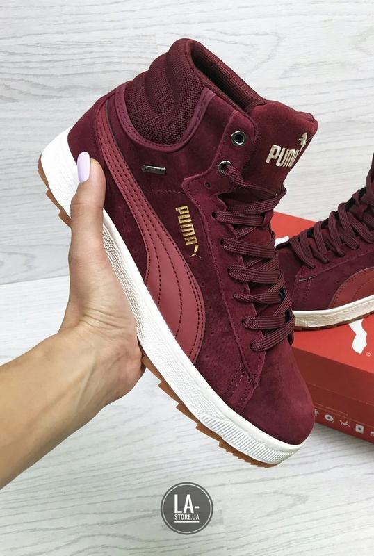Новинка! шикарные женские зимние кроссовки puma suede Puma 1288c710ed80f