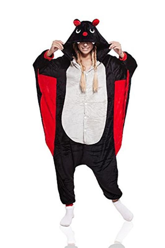 Кигуруми летучая мышь вампир пижамка костюм на halloween m размер1 ... ab5adef1bc114