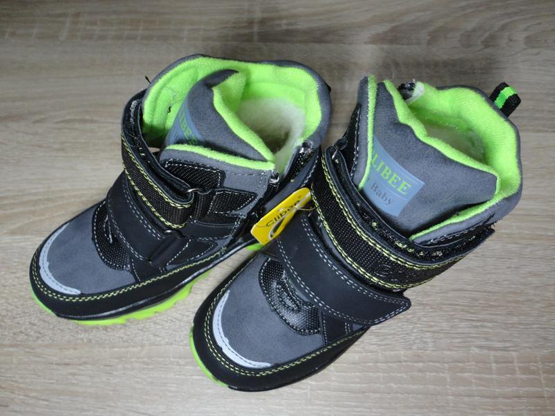 Детские зимние ботинки clibee для мальчика (26-31)1 ... 1e874ea0104cb