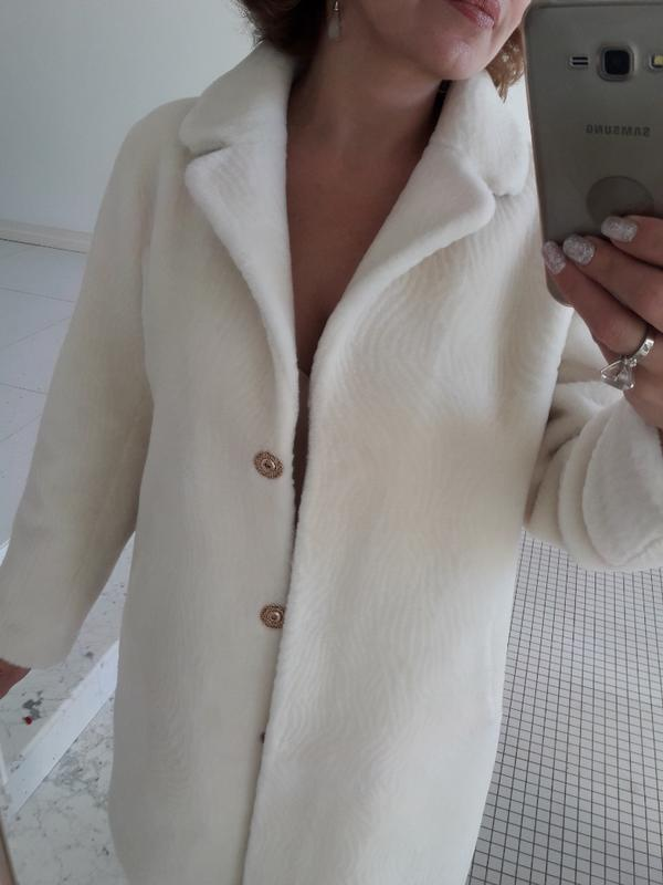 Шуба натуральная овчина зима пальто woolmark кашемир шерсть л1 ... dd03877973f5e