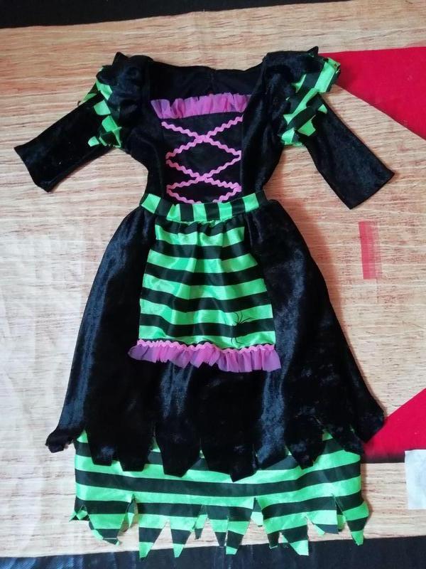 4075be7711a19c2 Карнавальное новогоднее платье королевы пауков, колдуньи. ведьмы на  1-3года1 ...