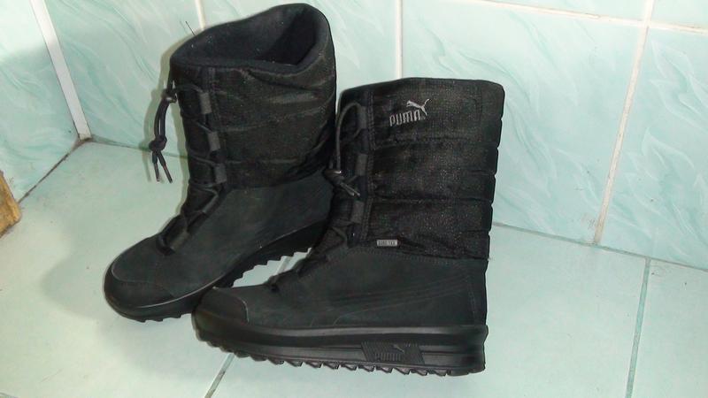 Puma gore-tex - шкіряні зимові черевики-чоботи. р - 36 Puma 40170811ddad4