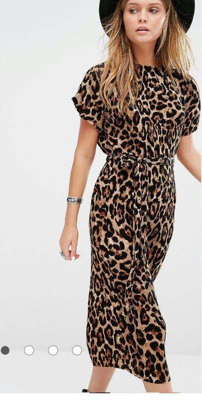 6ee9fd73f61 Актуальное миди платье в леопардовый принт new look.1 фото ...
