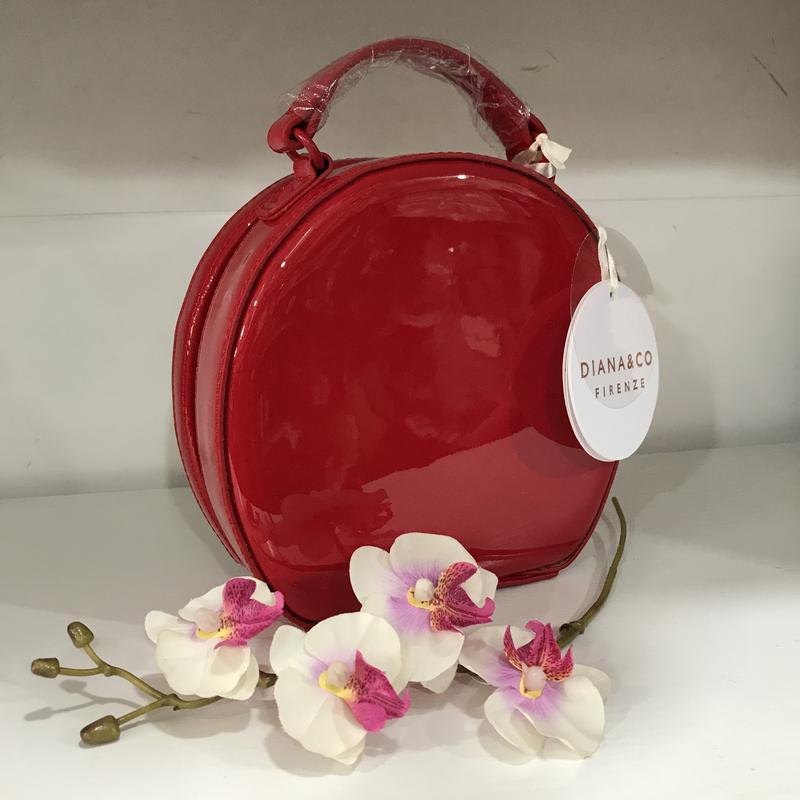 cb551efb3b5f Лаковая каркасная сумочка diana&co эко кожа люкс, цена - 845 грн ...