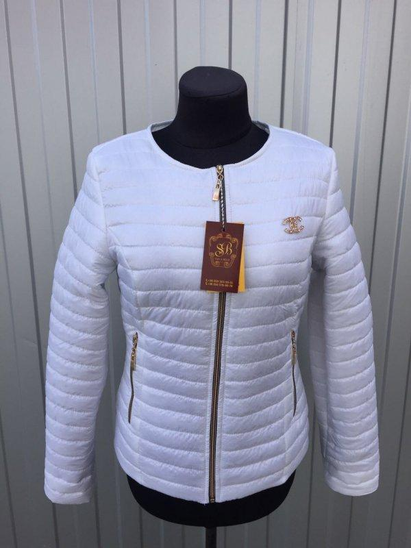 Куртка женская весенняя, шанель  цвет белый 54 р, цена - 500 грн ... 7b7427fcea0
