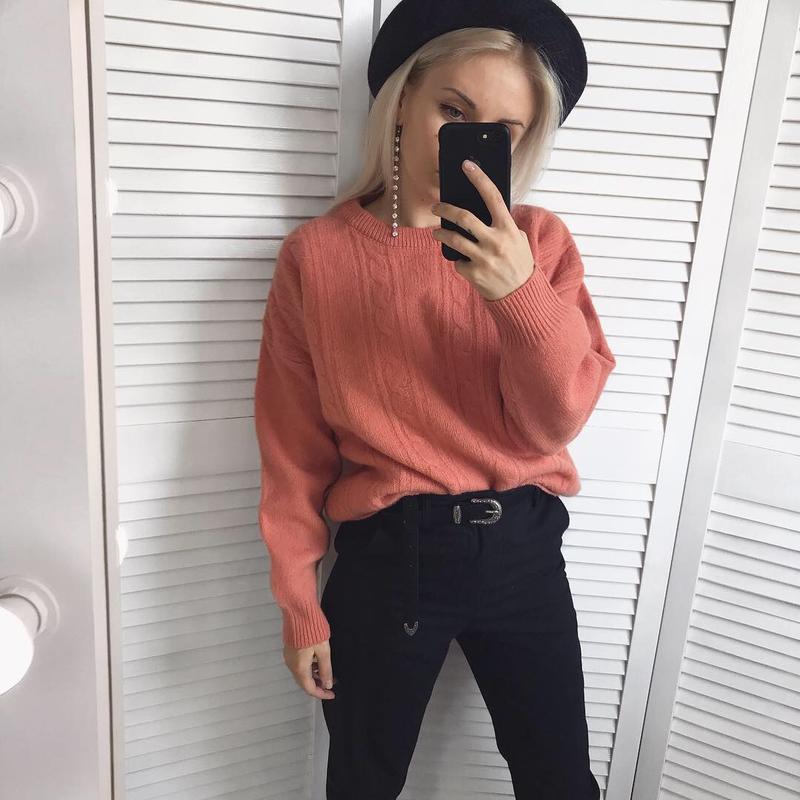 Плотний шерстяний светрик шерстяной свитер Promod c3e3bac3ec1e9