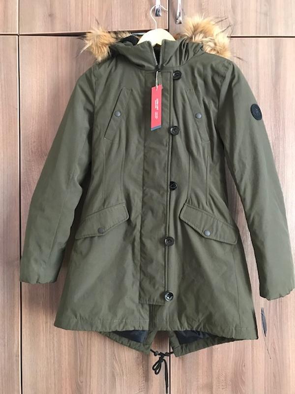 Парка куртка зимняя женская tommy hilfiger Tommy Hilfiger 28b73e2efea00