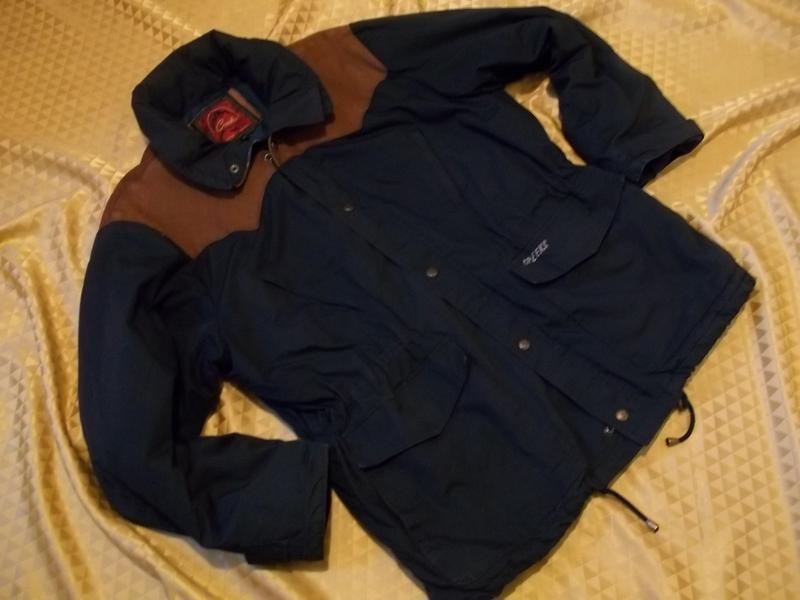 Мужская куртка осень-весна. вверху - вставки замша., цена - 100 грн ... 010c8bc921f