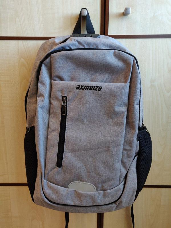 b193da2e332c Рюкзак laamei городской для ноутбука с usb / органайзер / сумка1 фото ...