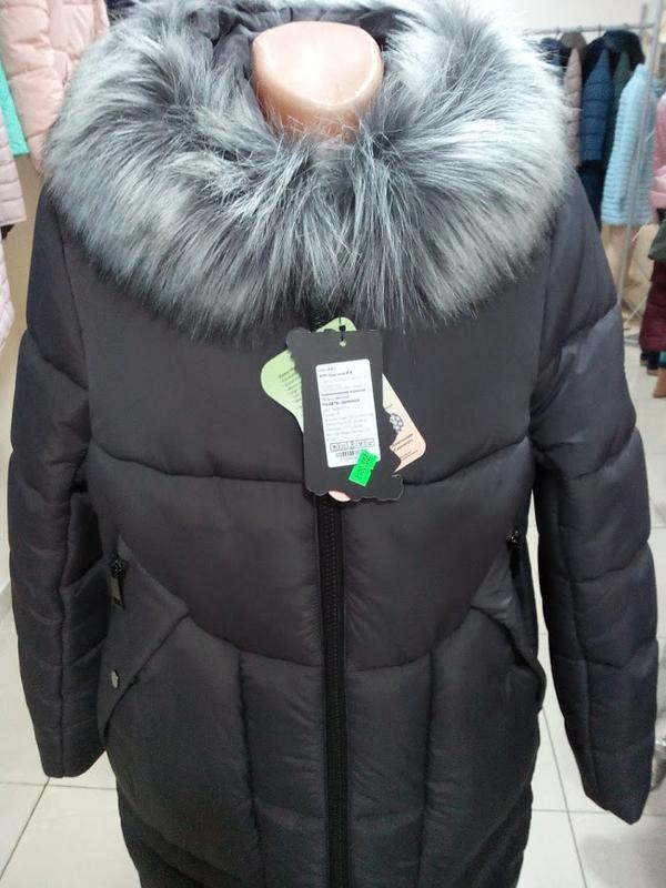 e990f3f12fe ... Зимнее женское пальто с капюшоном дамиана нью вери (nui very)3 фото ...