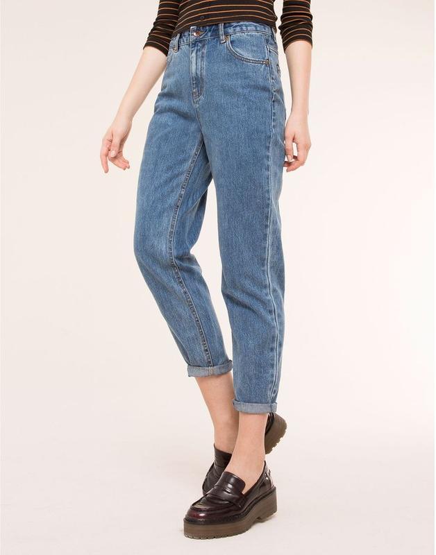 461fa83e00e Джинсы mom jeans pullandbear Pull Bear