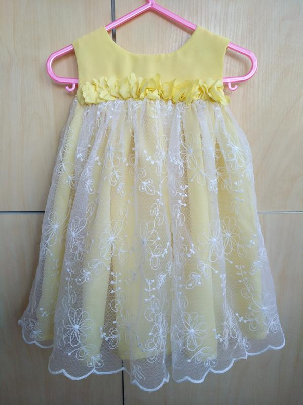 6842fd7469d Нарядное платье f f на 2 года1 ...