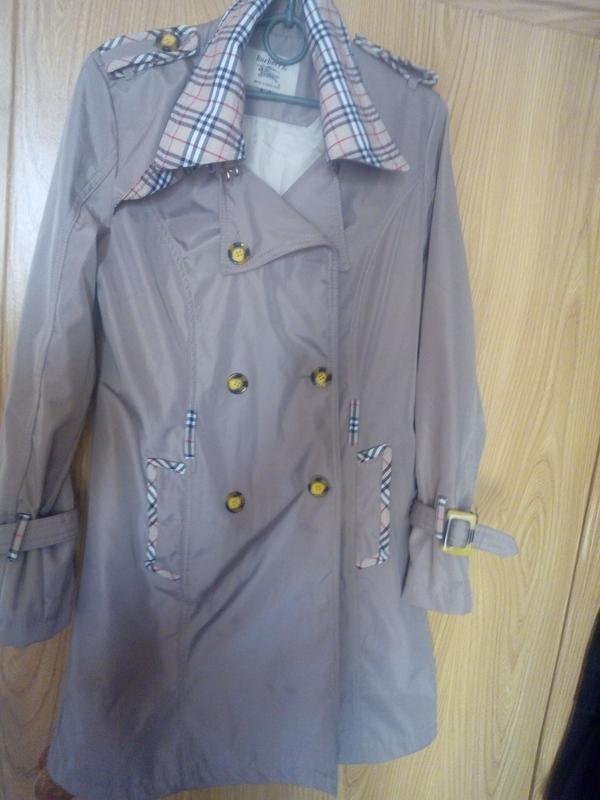 501be5d7575a Пальто burberry оригинал, цена - 500 грн,  16684059, купить по ...