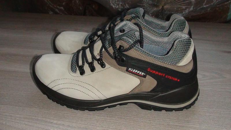Klepper - шкіряні трекінгові кросівки. р - 42 (27.5см)1 ... 4b2b740064c74