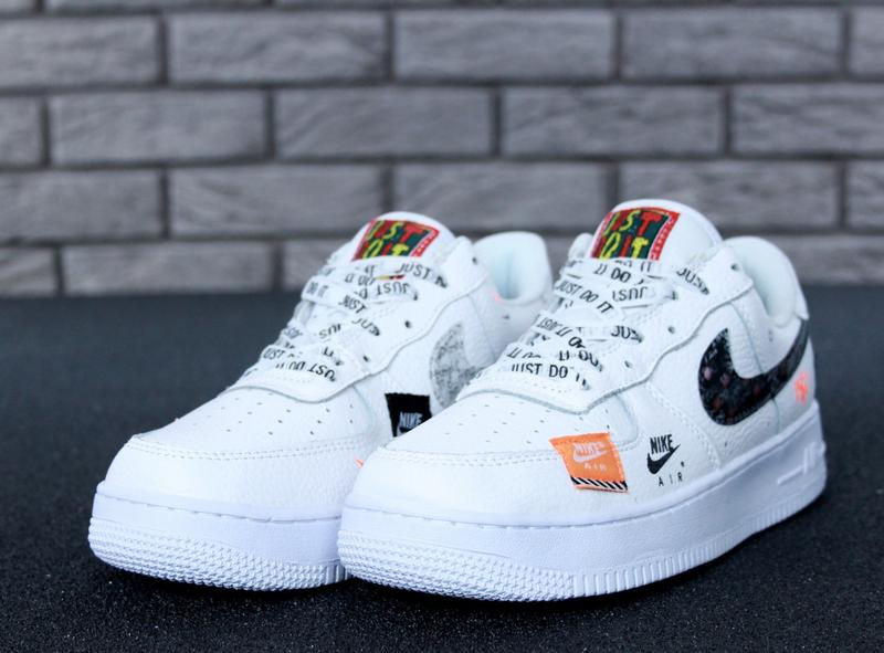89359fb5 Мужские кроссовки nike air force 1 low just do it pack white 41 42 43 44 ...