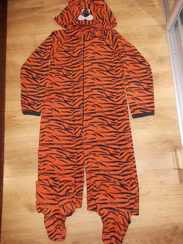 Пижама комбинезон слип кигуруми тигр на 11-12 лет рост 146-152 см1 ... 0ca6a05aa8952