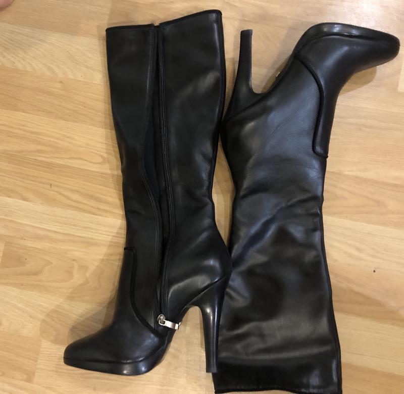... Сапоги и ботинки · Высокий каблук · Кожаные сапоги1  Кожаные сапоги2 ... faeae2eb64283