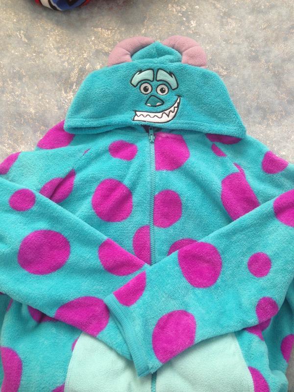 Love to lounge пушистый человечек кигуруми слип костюм пижама комбинезон  р.18-20 3xl ... eacf9979a569e