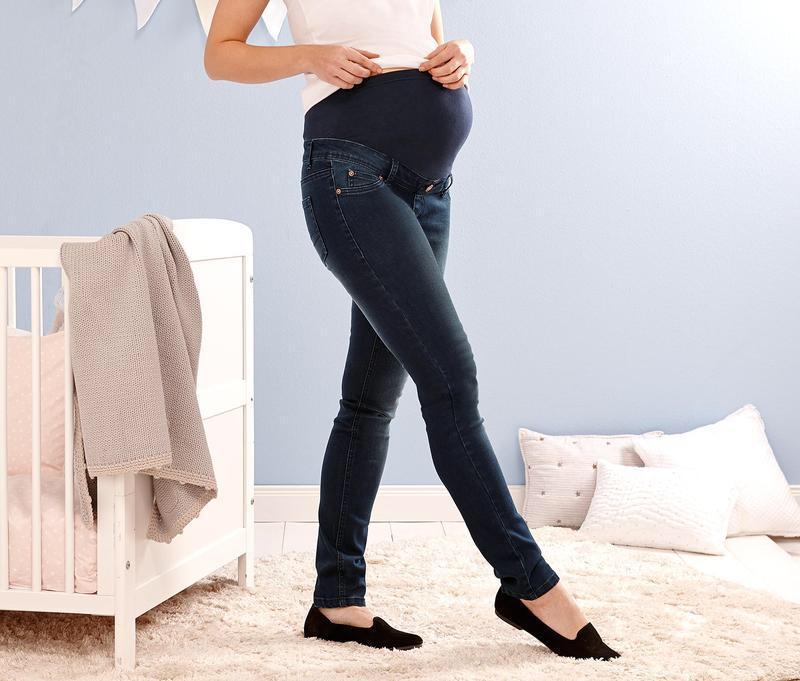 Джинсы для беременных slim fit tcm tchibo р. 48(наш) Tcm Tchibo ... bd66628f903