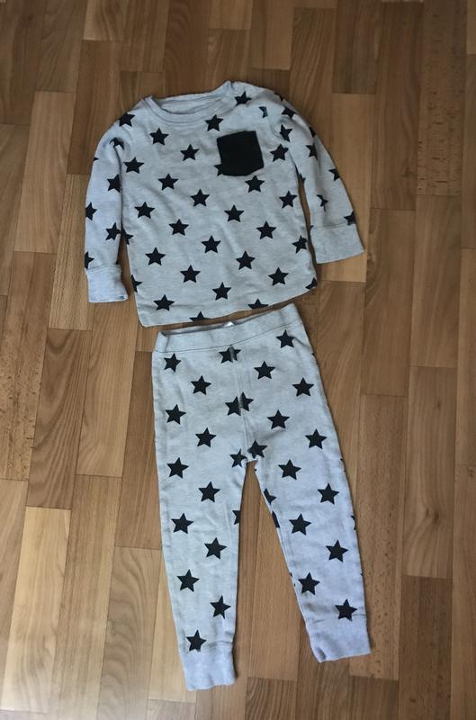 d4278b4b98e3 Пижама на мальчика хлопковая поддева next 2-3 года рост 92-98 см1 фото ...