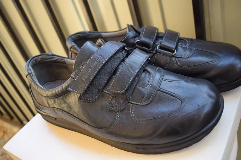 1ebb49b32 Кожаные туфли мокасины helvesko швейцария р.42 28 см на широкую1 ...