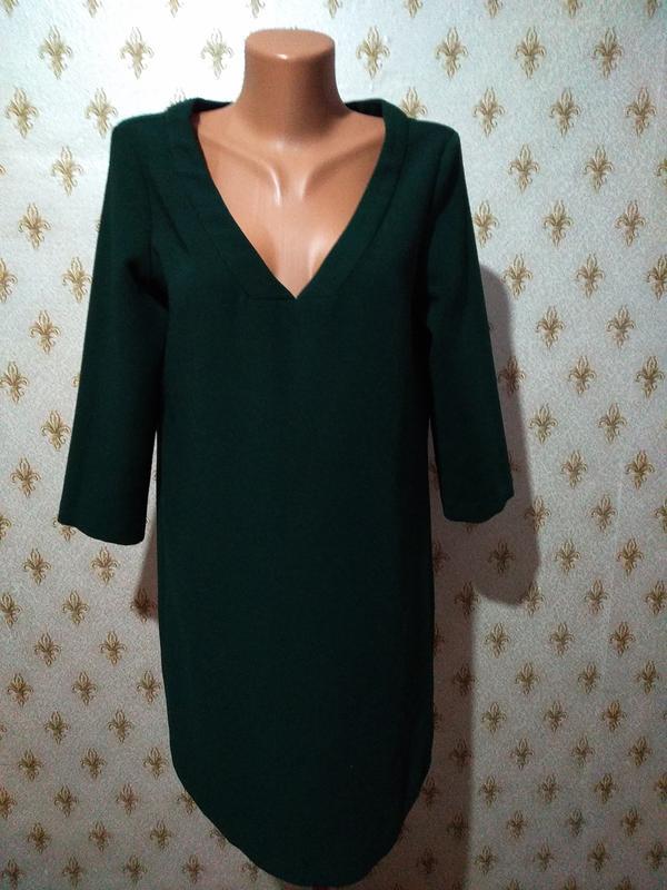3e9ffb3f389b Платье с v- образным вырезом mango Mango, цена - 250 грн,  16724541 ...