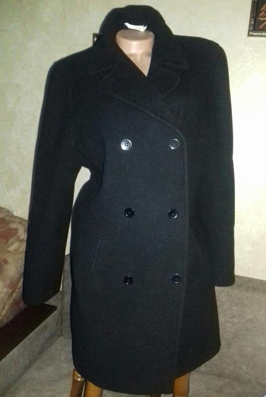 058d9c3ab9e Черное трендовое классическое женское пальто george