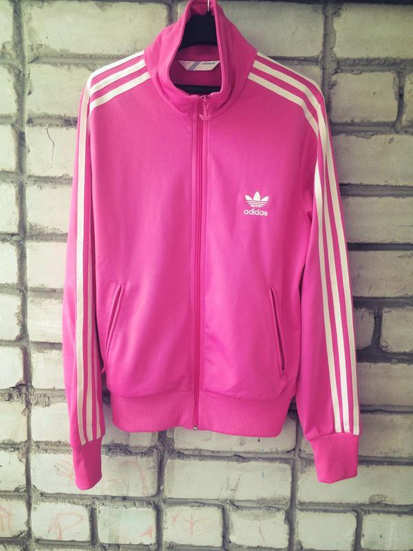 5b2fc79ec81c Спортивная кофта розовая ветровка мастерка adidas originals Adidas ...