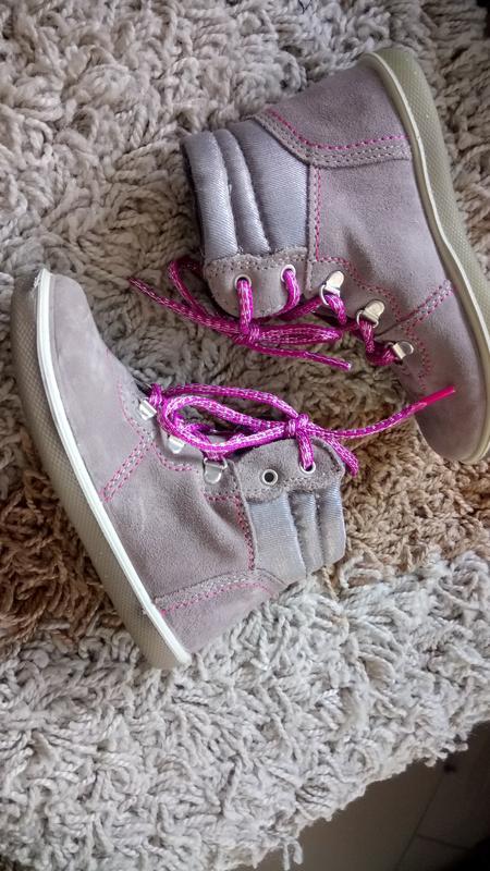 Дитячі шкіряні осінні черевички на шнурки Италия 066d09834c6f2