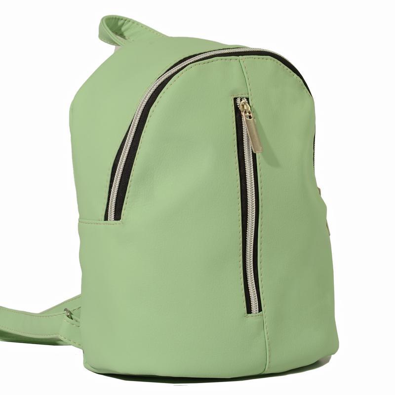 0db530271636 Маленький женский рюкзак мята для учебы, города, прогулок Sambag ...