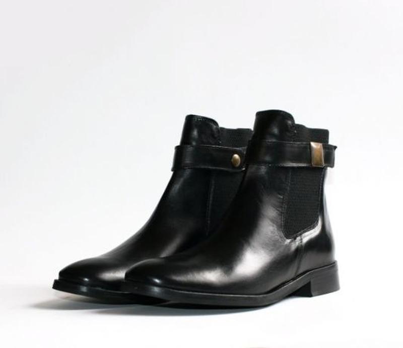 3a0c65fa7 Ботинки челси riarosa оригинал. натуральная кожа. 36, цена - 1250 ...
