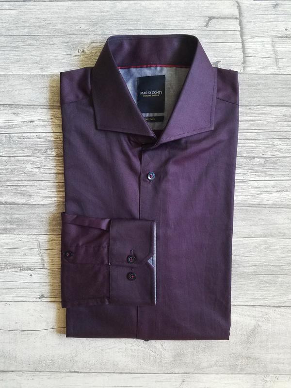 c92fb1cea46 Мужская классическая рубашка mario conti1 фото ...
