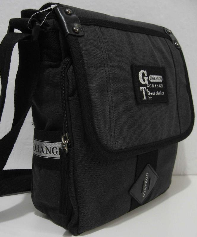 7a4bdfbd4735 ... Мужская тканевая сумка-органайзер gorangd (чёрная) 18-09-1532 фото ...