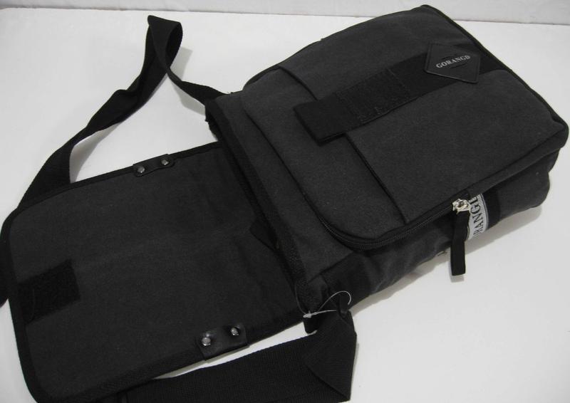 e933000f014b ... Мужская тканевая сумка-органайзер gorangd (чёрная) 18-09-1535 фото