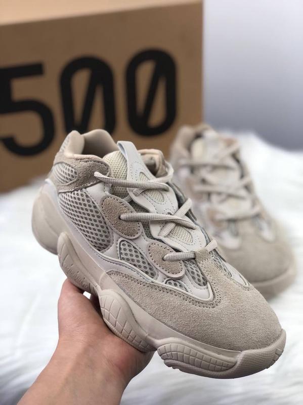 33d5dd557 Отличные кроссовки adidas yeezy 500 blush унисекс (мужские и женские  размеры)1 фото ...