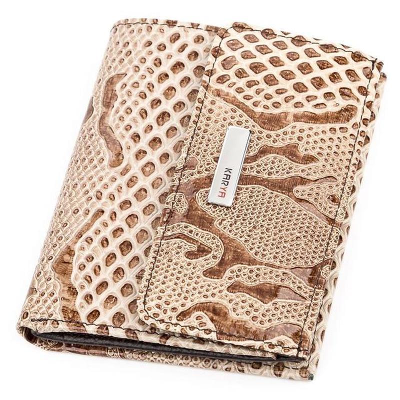 93c367b61098 Кошелек женский karya 17146 кожаный бежевый Karya, цена - 1008 грн ...