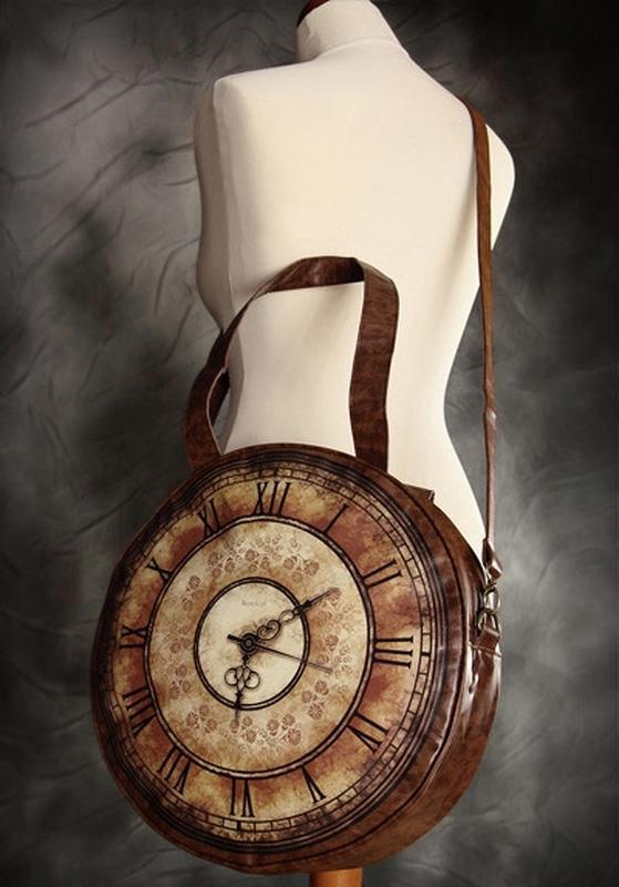 257e974122ba Невероятно классная сумка-часы в стиле стимпанк, цена - 350 грн ...