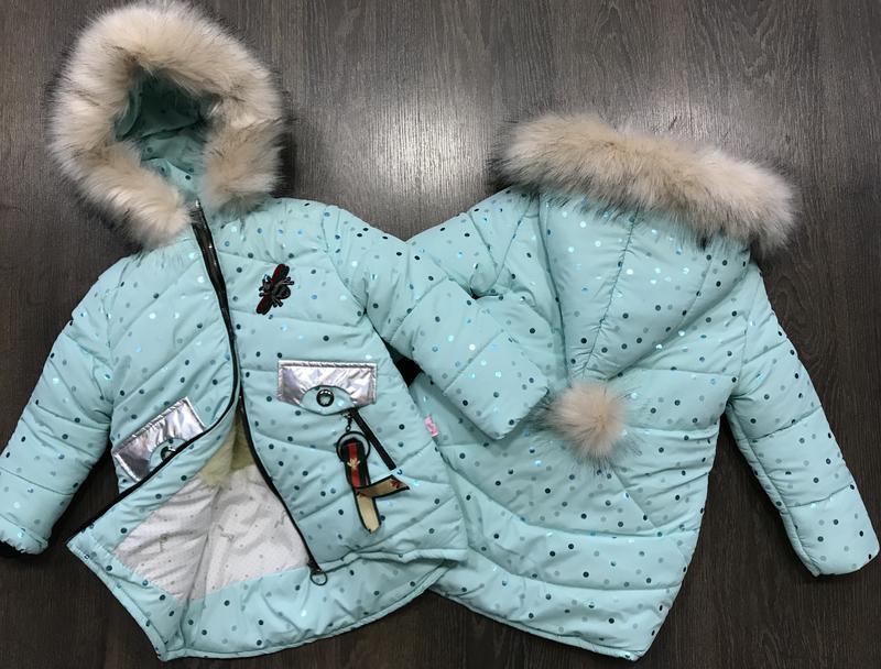 Стильная зимняя курточка-парка с капюшоном-колпаком1 8e043afa1e9ab