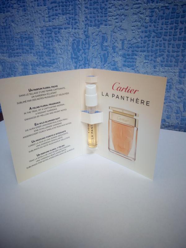 Cartier La Panthereоригинал нишевая парфюмерия пробник духи ниша