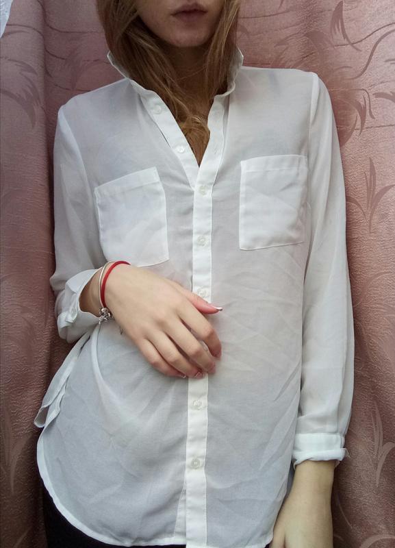 23ef358cced Белая блузка классика от new look1 фото ...