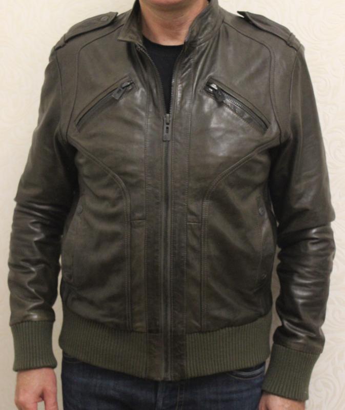 Мужская кожаная куртка b6f5a642373f6