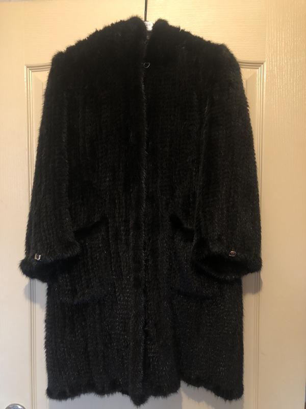 пальто из вязаной норки цена 5500 грн 16679976 купить по
