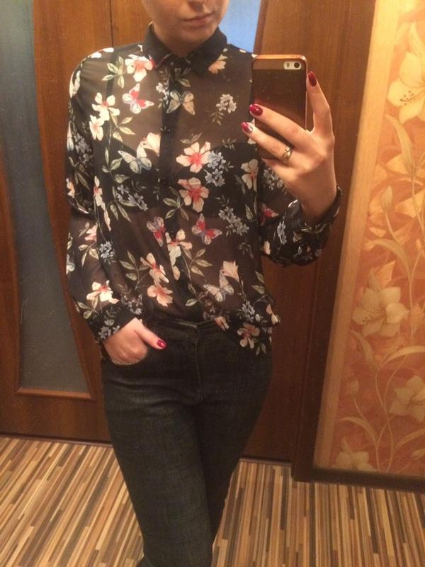 ca01483a3aa Прозрачная блузка new look New Look