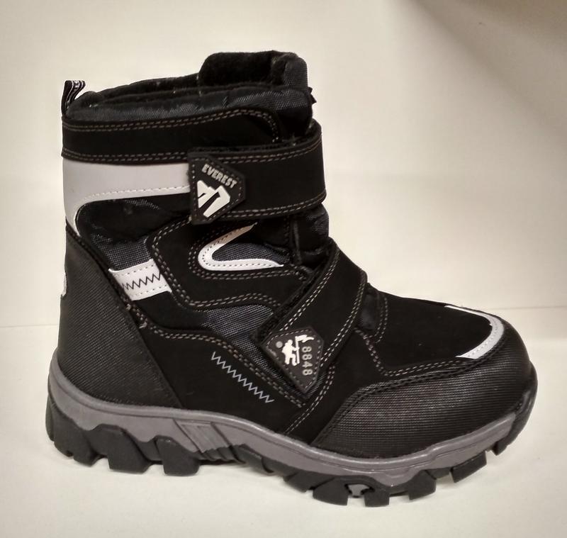 5affbc3e5b45 Kellaifeng зимние термо сапоги ботинки снегоходы на липучке 32-35 р-р1 ...