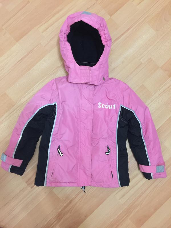 Курточка зимняя 116 р на снег scout очень дёшево1 ... 99a7d39b2d077